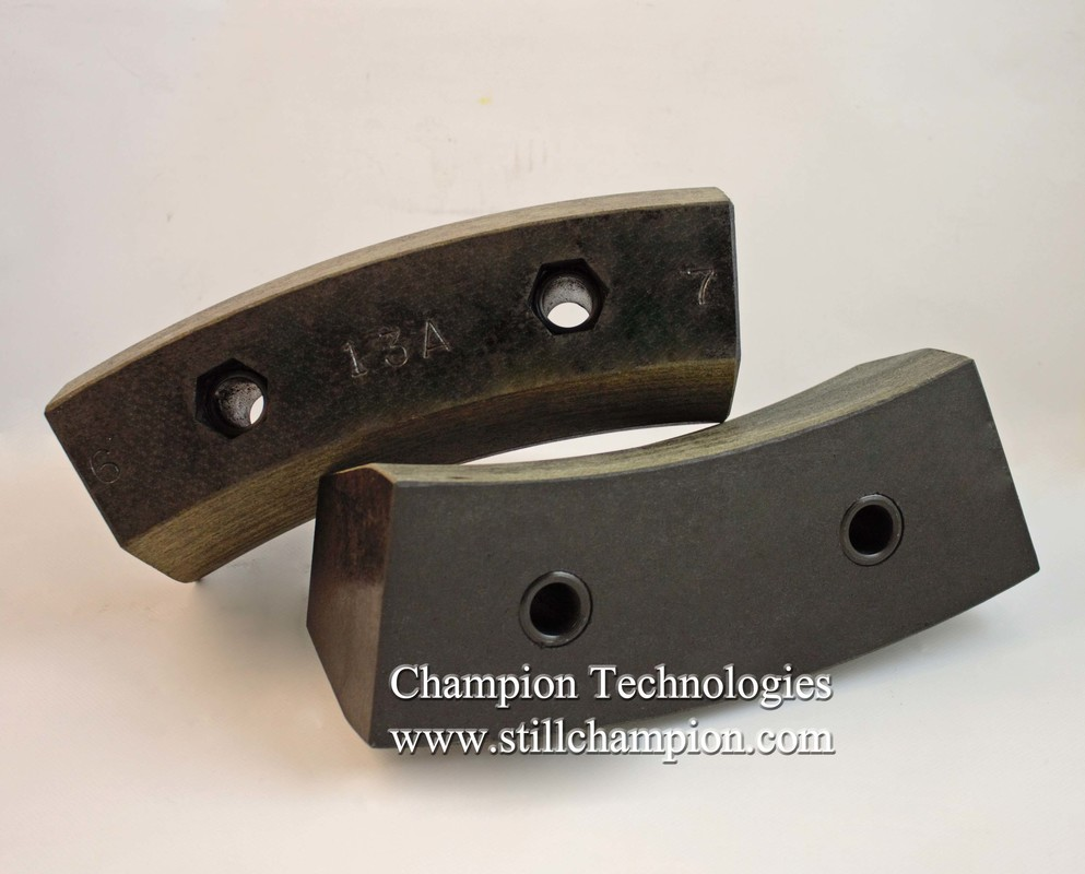 Brake Block Material : Brake blocks champion technologies inc